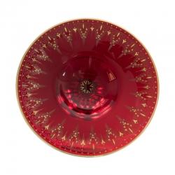 Rubinglasaufsatz von J. C. Klinkosch