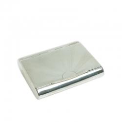 Silberne Tabakdose aus Pest