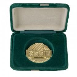 Rapid Wien Medaille 14K Gelbgold