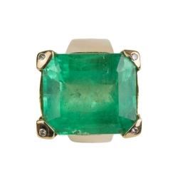 Smaragd-Ring