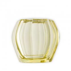 Zitronengelbe Tischvase